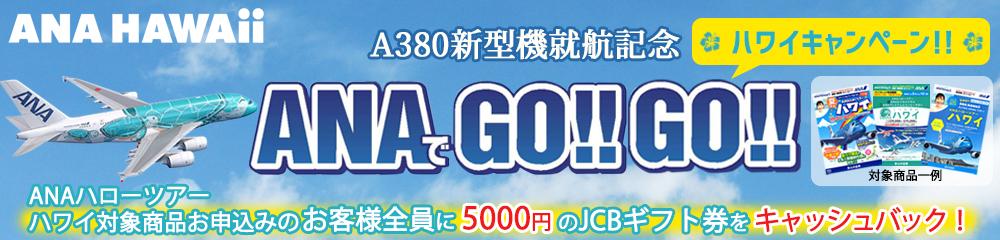 ANAでGO!!GO!!ハワイキャンペーン
