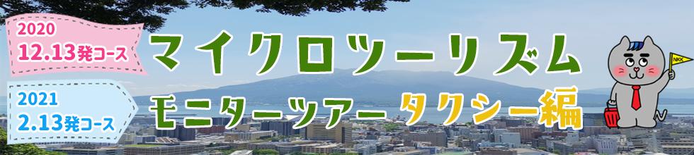 マイクロツーリズムモニターツアー タクシー編